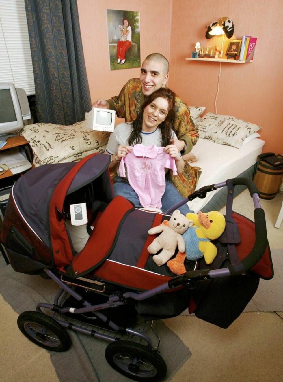 BIG DADDY: Ramsy og Anne Mona er klar for sitt barn nummer to. (Arkivfoto) Foto: Se og Hør