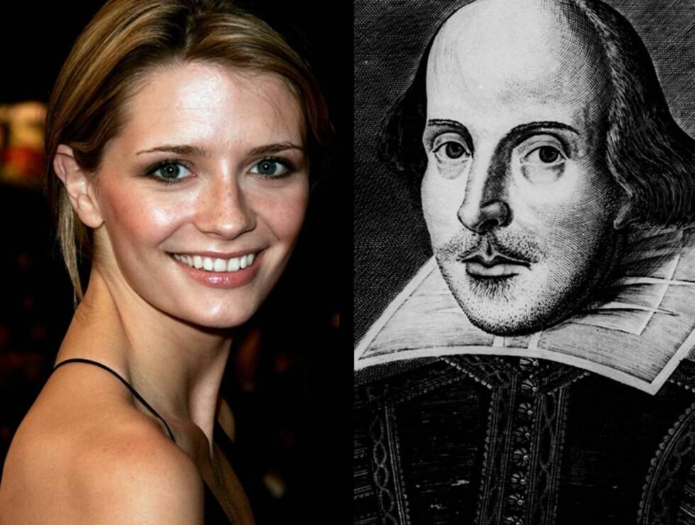 NYTT PAR: Mischa Barton vil bruke all sin tid på Shakespeares verker fremover. Hva sier kjæresten Cisco Adler til det?