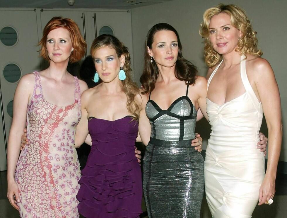 VAKRE: Sex og singelliv var en av verdens mest populære tv-serier. Nå blir serien film! Foto: All Over Press