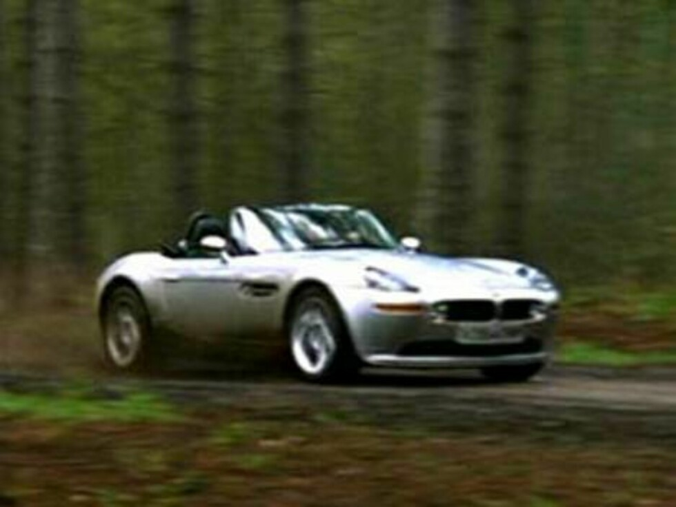 BMW Z8: Die Another Day.