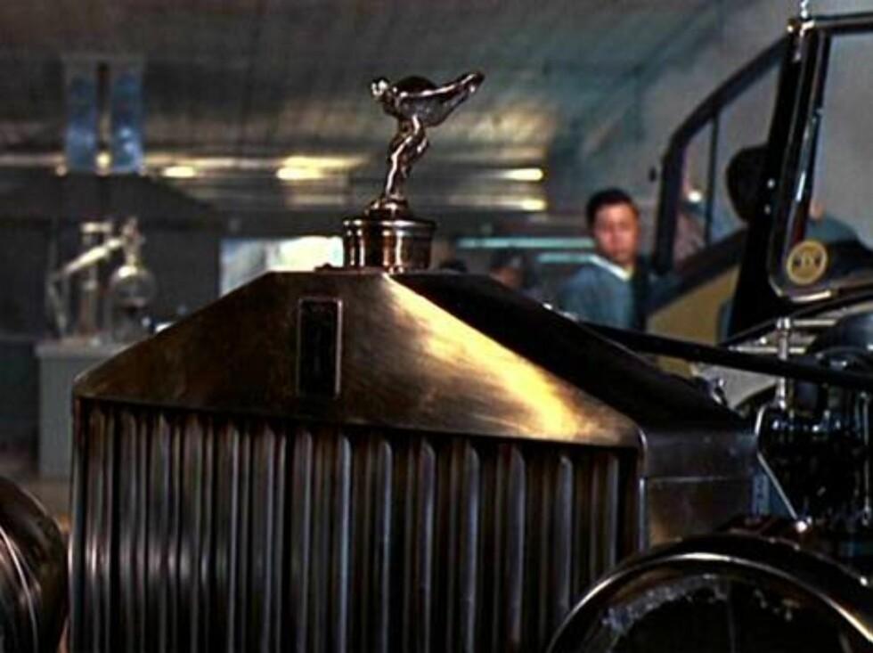 ROLLS ROYCE: Goldfinger.