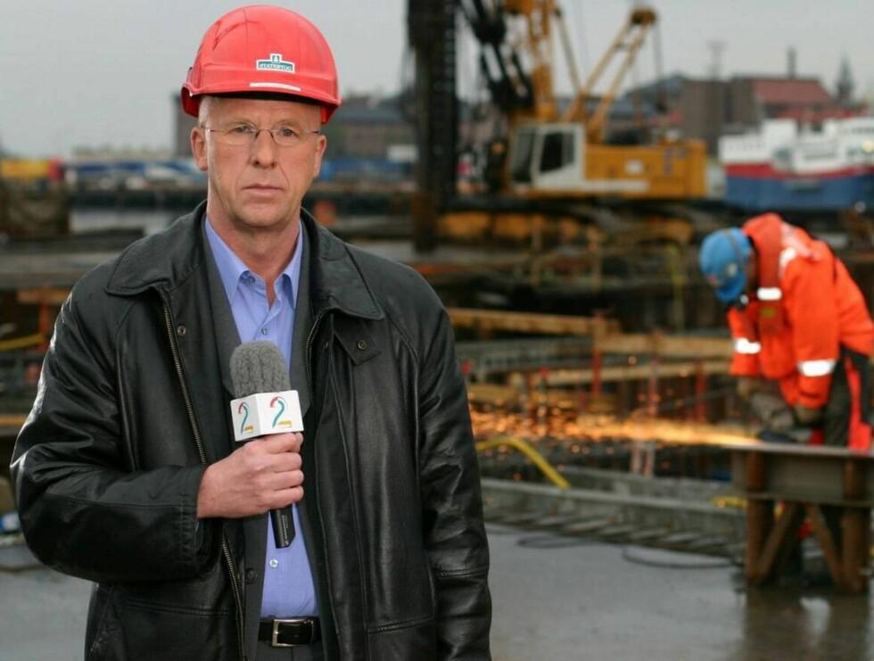 NY JOBB: Øyvind Brigg har lang erfaring fra dekning av utenriks og politikk i TV2-nyhetene. Foto: TV2