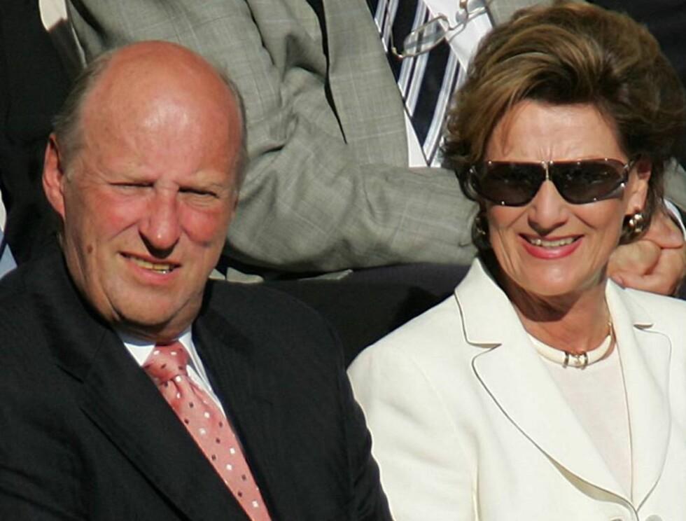 UVITENDE: Harald og Sonja skal ikke ha visst om møter på høyt nivå om deres daværende samlivsproblemer. Foto: Andreas Fadum/Se og Hør