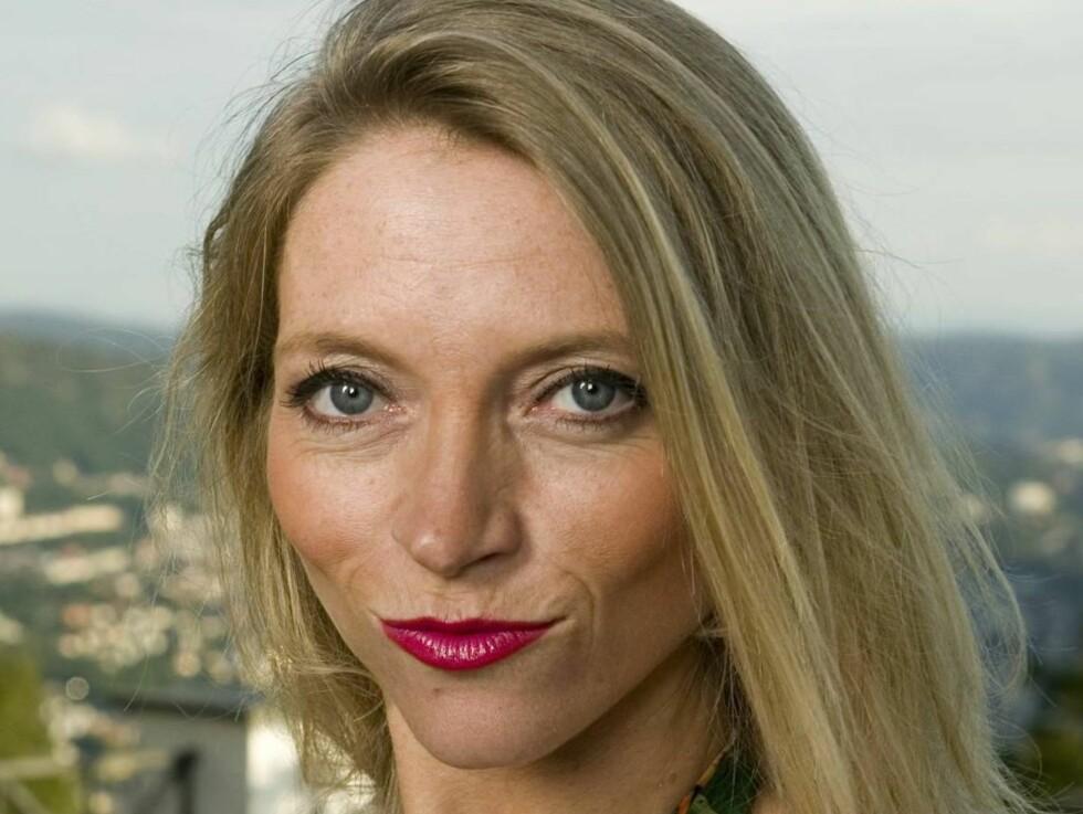 SINGEL: Trude Mostue er singel etter bruddet med Howard Thomas. Foto: Werner Juvik, Se og Hør