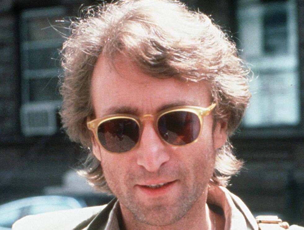 SKUTT: John ble skutt og drept 8. desember 1980. Foto: AP