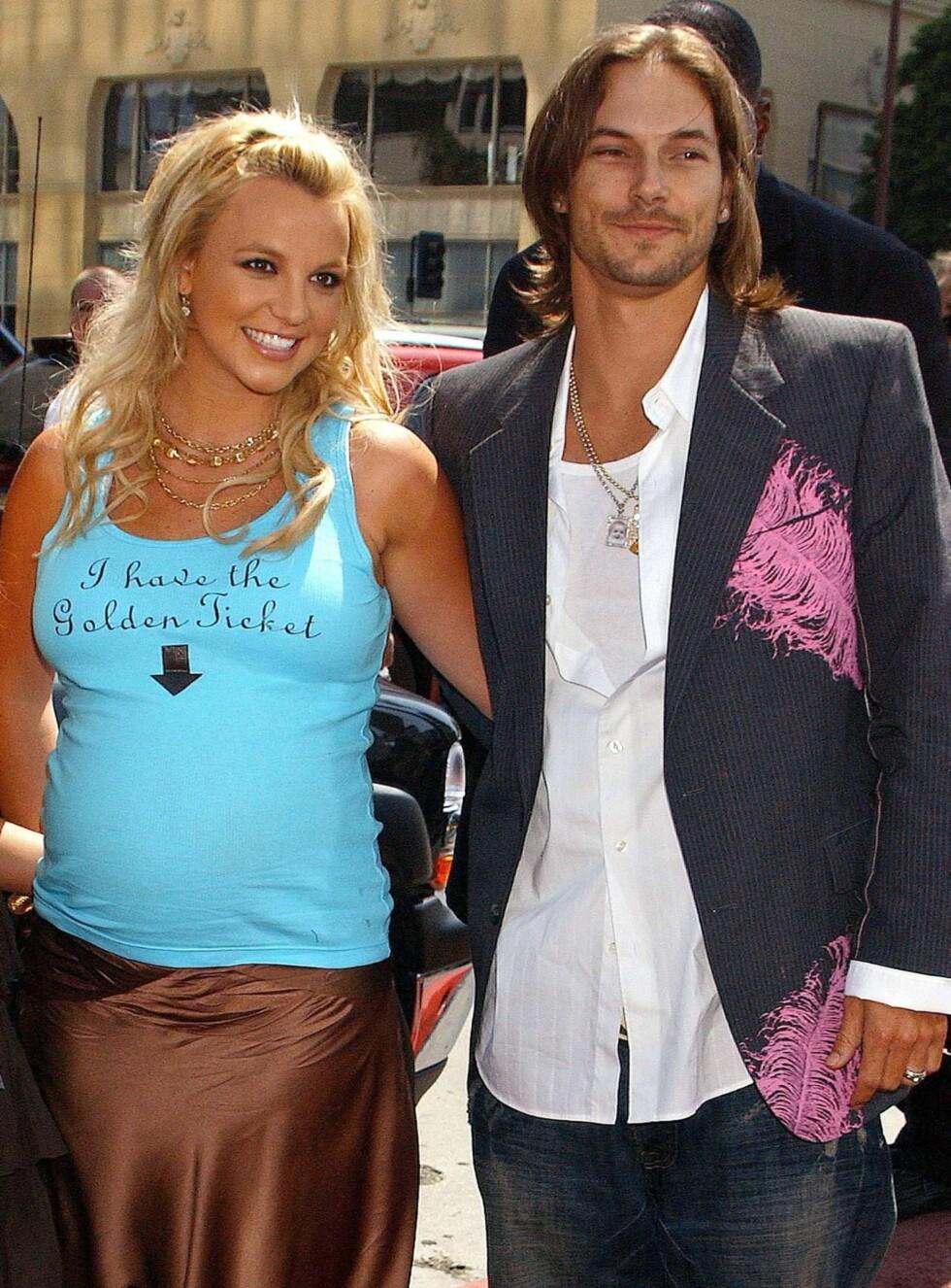 IDYLL: Kilder hevder at Britney og Kevin ikke er like lykkelige lenger. Foto: All Over Press