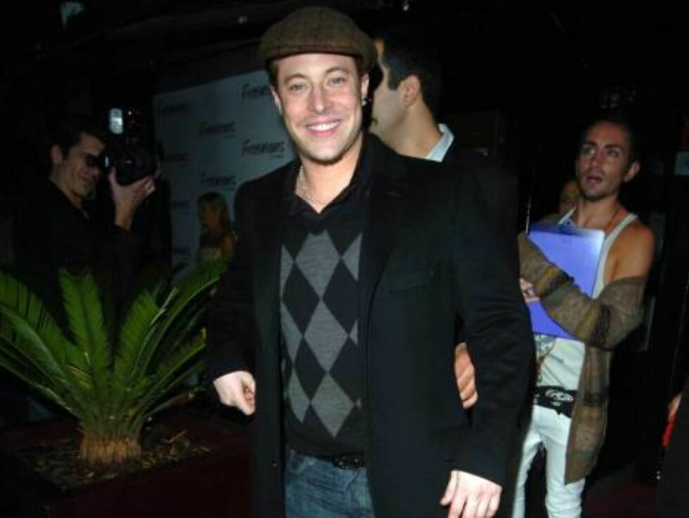 Duncan James at Ashlee Simpson's 22nd birthday party, held at the Embassy club in London, October 11, 2006.  Photo: Charlie Pycraft/YD Image Code: 4028   COPYRIGHT STELLA PICTURES Foto: Stella Pictures
