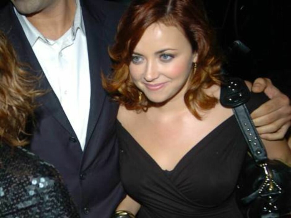Charlotte Church  at Ashlee Simpson's 22nd birthday party, held at the Embassy club in London, October 11, 2006.  Photo: Charlie Pycraft/YD Image Code: 4028   COPYRIGHT STELLA PICTURES Foto: Stella Pictures