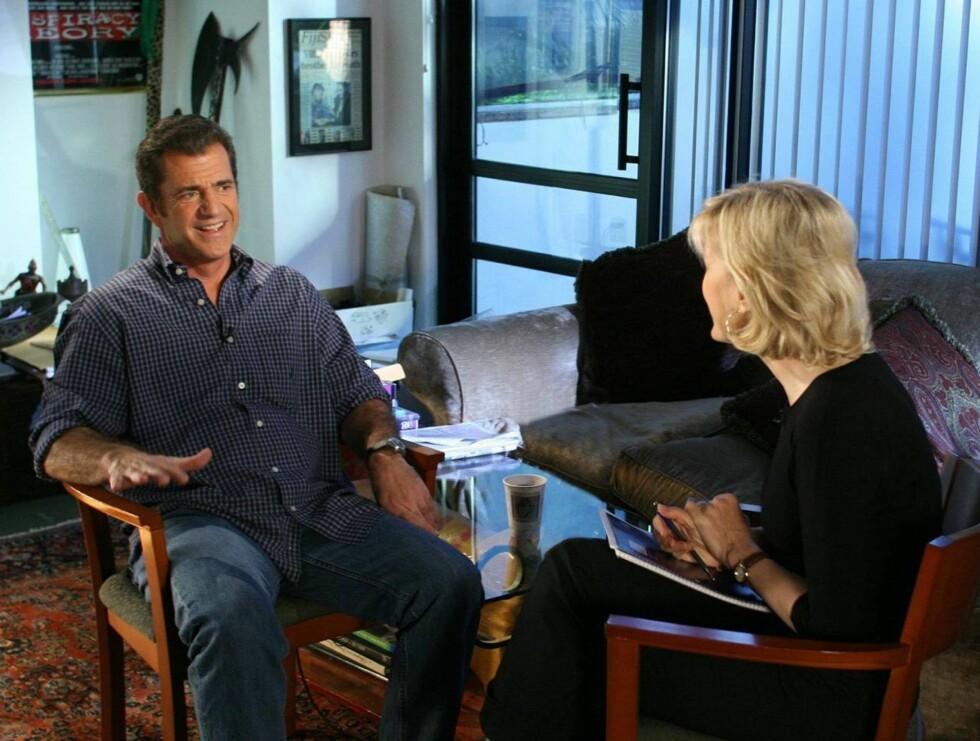 INTERVJUET: Mel prater ut om skandalen på tv-kanalen ABC i morgen. Foto: All Over Press