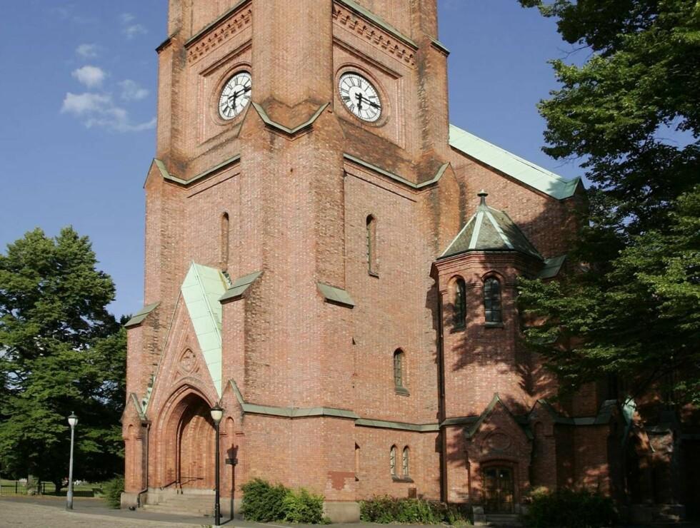 MINNESTUND: Det ventes mange kjendiser til den åpne minnestunden i Uranienborg kirke. Foto: SCANPIX