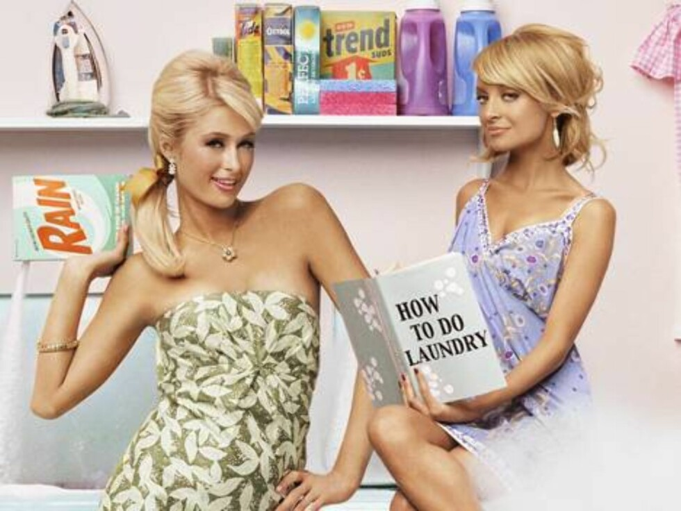"""**FILE**This undated promotional file photo originally released by E! Networks shows Paris Hilton, left, and Nicole Richie from """"The Simple Life."""" Have they buried the hatchet. The reality-style series stars, who had reportedly have been feuding since las Foto: AP/Scanpix"""