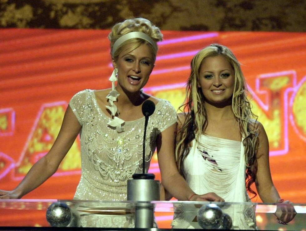 SAMMEN: Den gang var de bestevenninner, Paris og Nicole. Nå er det helt andre boller ... Foto: AP/Scanpix