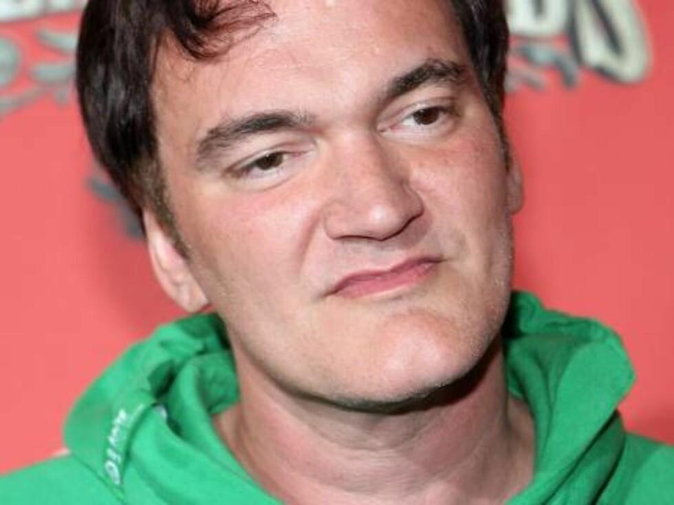 Filmguruen Quentin Tarantino. Foto: All Over Press