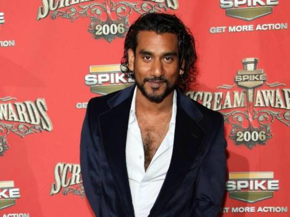 """Lost""-stjernen Naveen Andrews. Foto: All Over Press"