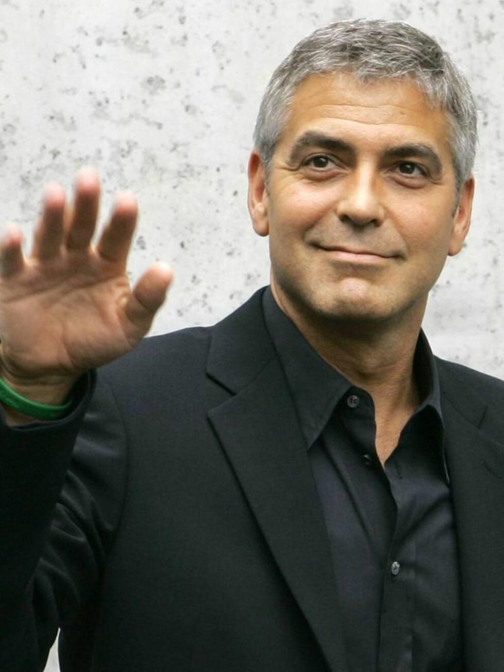 SLÅR TILBAKE: George Clooney vil ta hevn på fotografene. Foto: AP/Scanpix