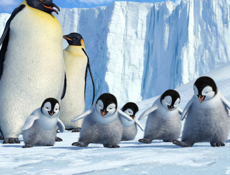 NUSSELIGE: De snakker, synger og danser, og er årets mest elskelige krabater på kino.