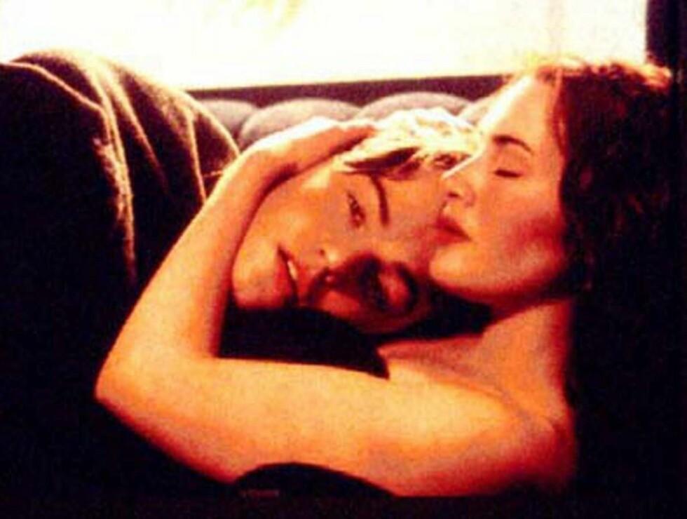 """SEXY: Sexscenen mellom Kate og Leo i """"Titanic"""" er en av verdens mest berømte. Foto: AP/Scanpix"""