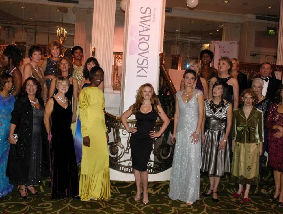 MANGE: Samtlige kvinner som møtte opp som modeller, har, eller har hatt, kreft. Foto: Stella Pictures