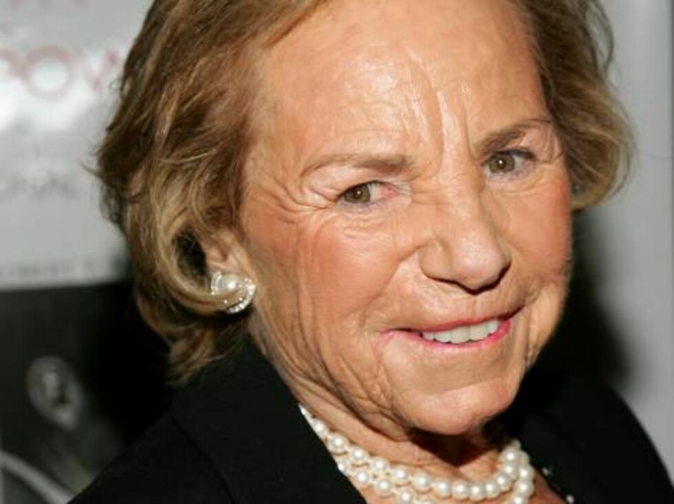 NEW YORK - OCTOBER 06:  Ethel Kennedy attends the Speak Truth To Power Memorial Benefit Gala at Pier Sixty, October 6, 2006 in New York City.  (Photo by Evan Agostini/Getty Images) *** Local Caption *** Ethel Kennedy  * SPECIAL INSTRUCTIONS:  * *OBJECT N Foto: All Over Press