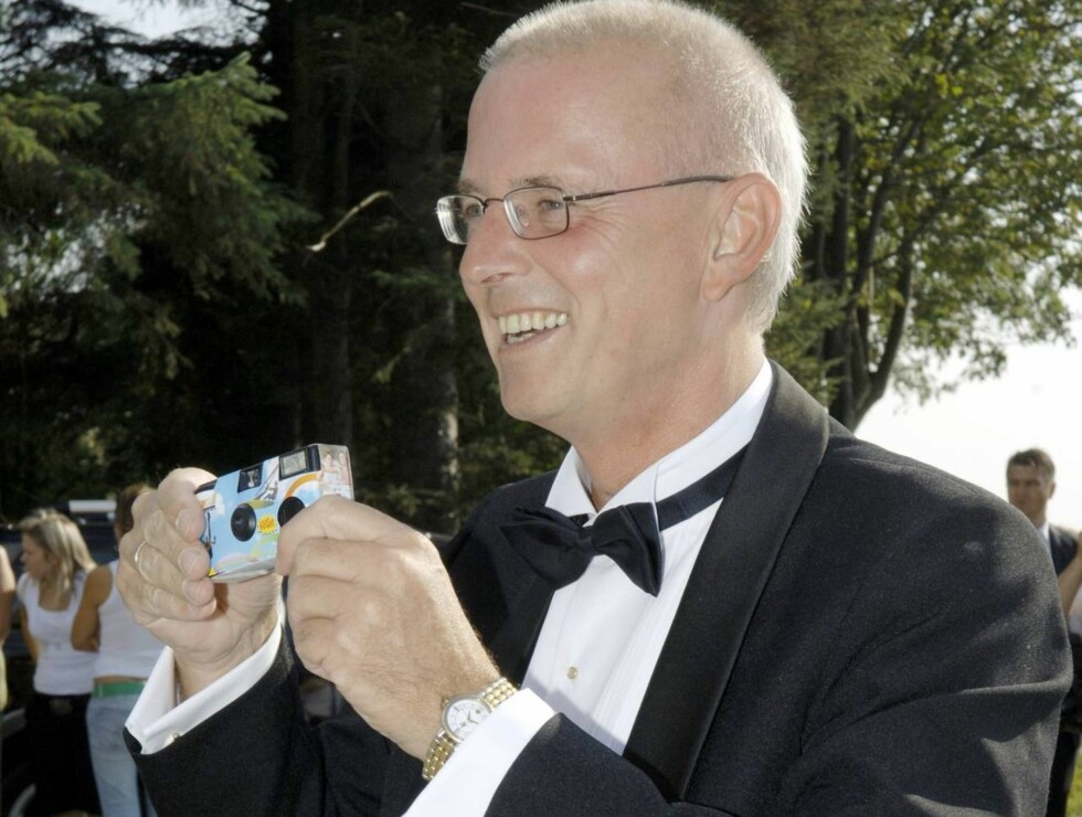 20060826 Haugesund. Synnøve Svabø giftet seg med Stein Olav. Foto: Robert S. Eik Terje Svabø Foto: Se og Hør