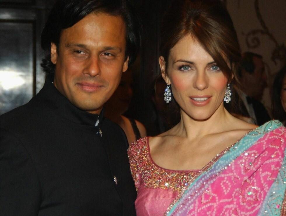 NY KJÆRESTE: Liz har nå funnet kjærligheten med Arun Nayer. Foto: All Over Press