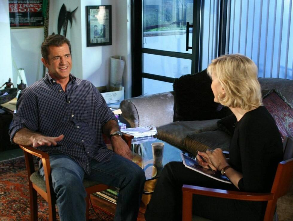 INTERVJUET: Det er i et intervju med den amerikanske ABC, at Gibson forteller svært åpenhjertig om skandalen. Foto: All Over Press
