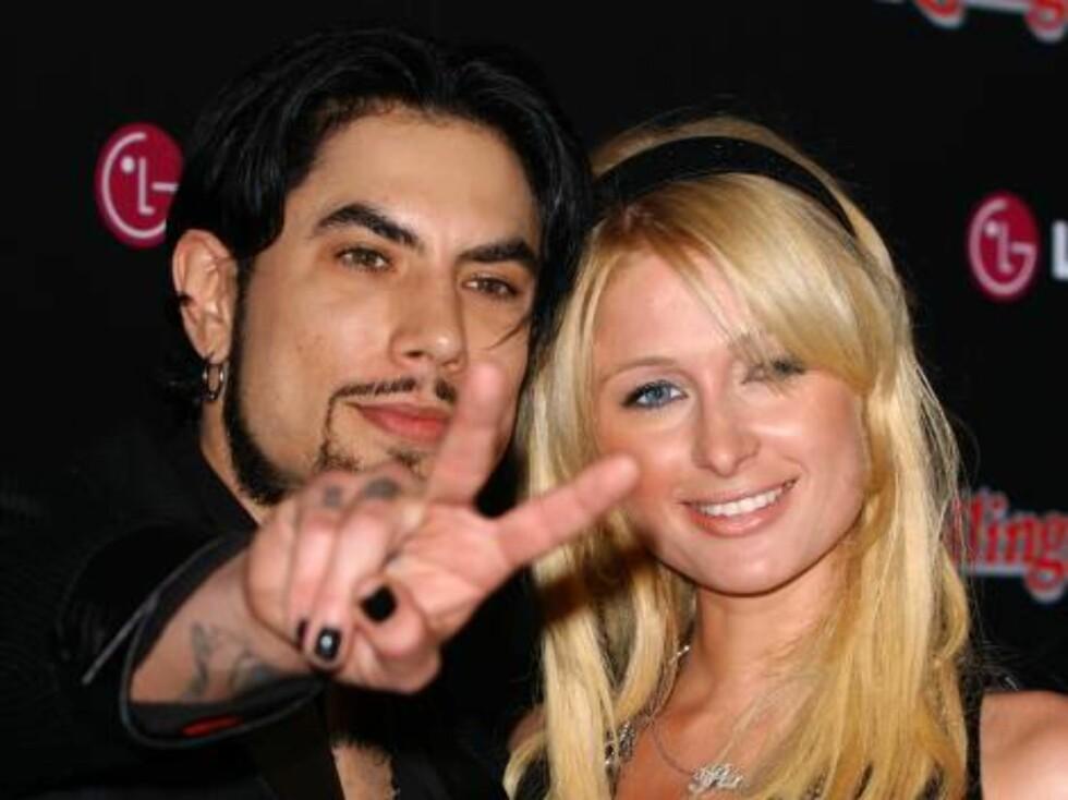 Eksen til Carmen Electra, Dave Navarro, og styrtrike Paris Hilton. Foto: Stella Pictures