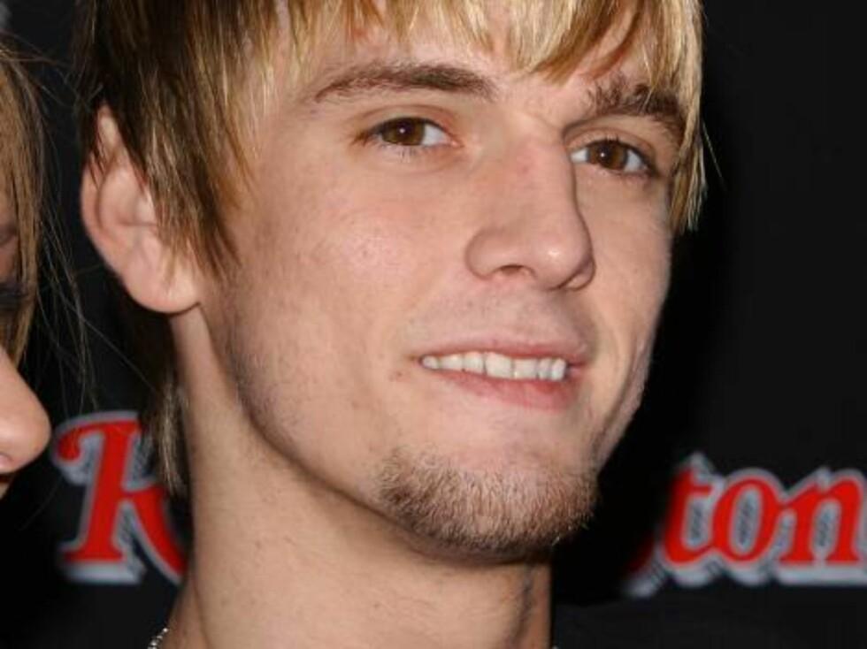 Lillebroren til Nick, Aaron Carter, elsker rampelyset. Foto: Stella Pictures