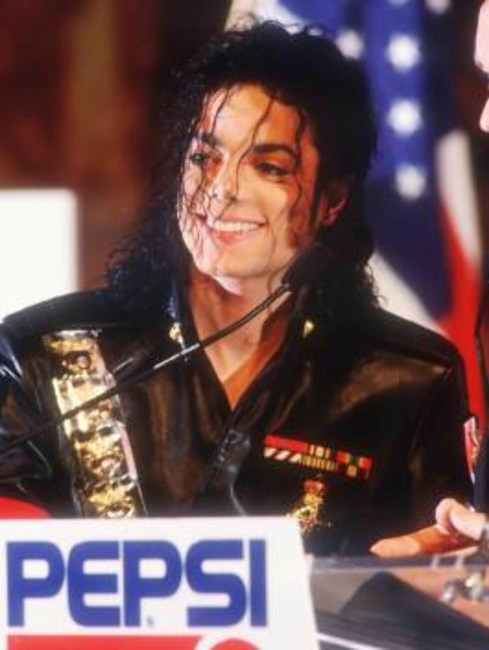 Eksentriske Michael Jackson. Foto: AP/Scanpix