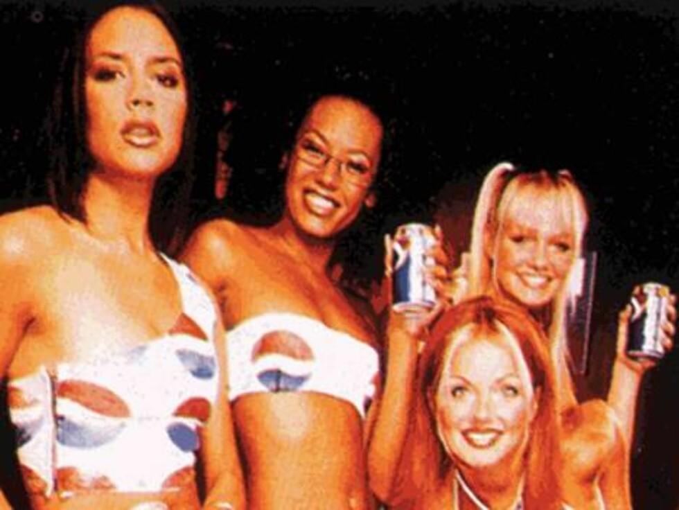 Spice Girls sørget for et massivt Pepsi-salg. Foto: All Over Press