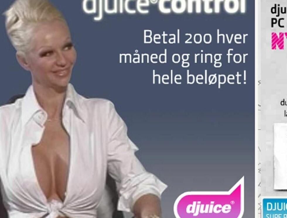 FULL KONTROLL: Få kontroll med Tanya lover Djuice. Foto: Faksimile Telenor