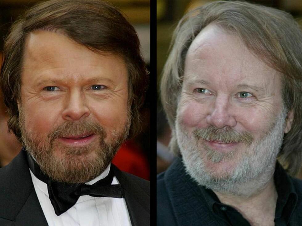 RADARPAR: Björn og Benny blir britenes svar på Tor Milde og Amund Bjørklund. Foto: All Over Press