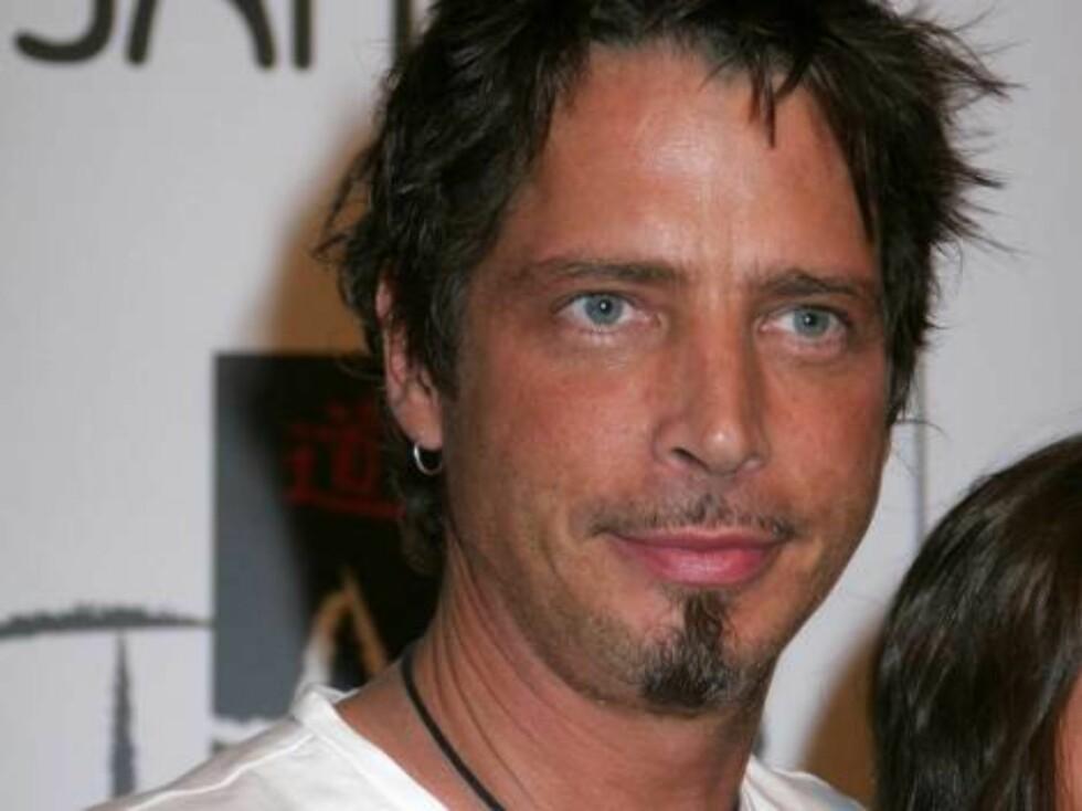 """Audioslave""-stjernen Chris Cornell. Foto: Stella Pictures"