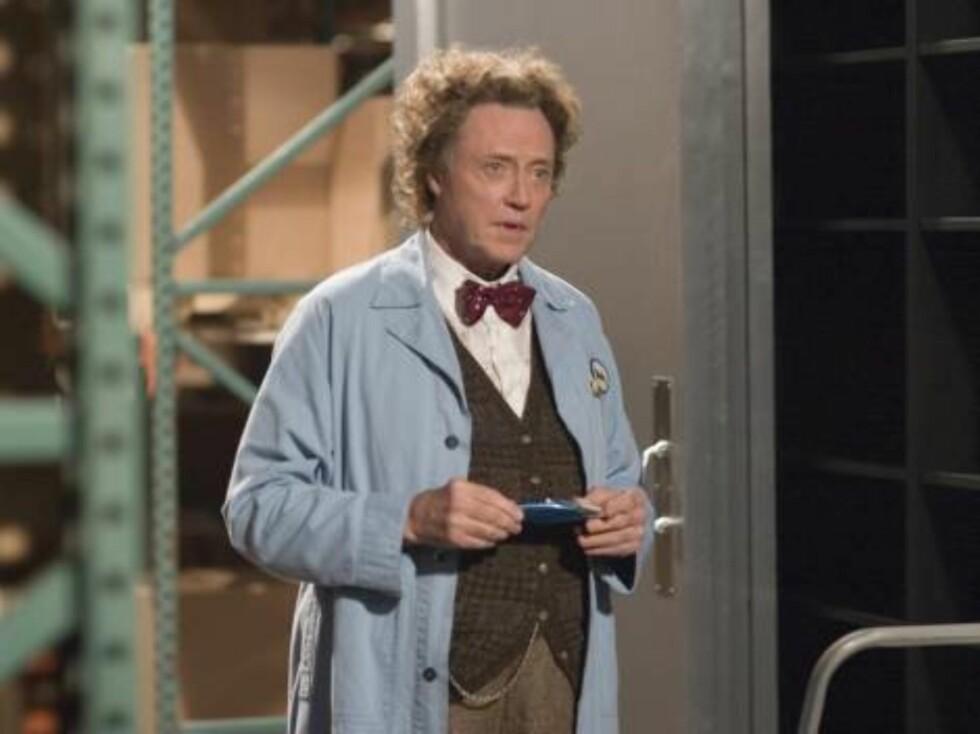Filmlegenden Christopher Walken som gærne Morty. Foto: Filmweb