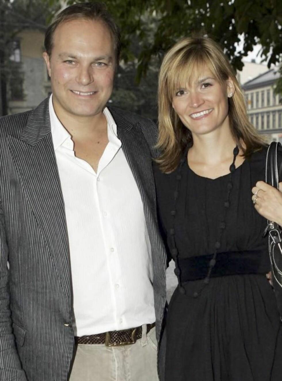 PÅ FLYTTEFOT: Marianne Ulrichsen og ektemannen Didrik Vigsnæs har kjøpt villa ved Slemdal.
