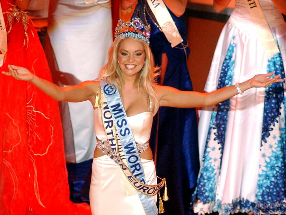 VINNEREN: Tatana Kucharova ble i kveld kåret til Miss World 2006. Foto: AP