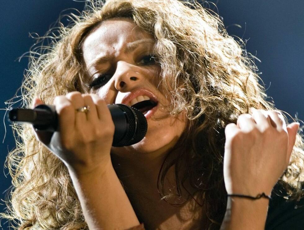 "SEXY: Etter sangen ""Hips don't lie"", har Shakira nådd nye høyder ... Foto: AP/Scanpix"