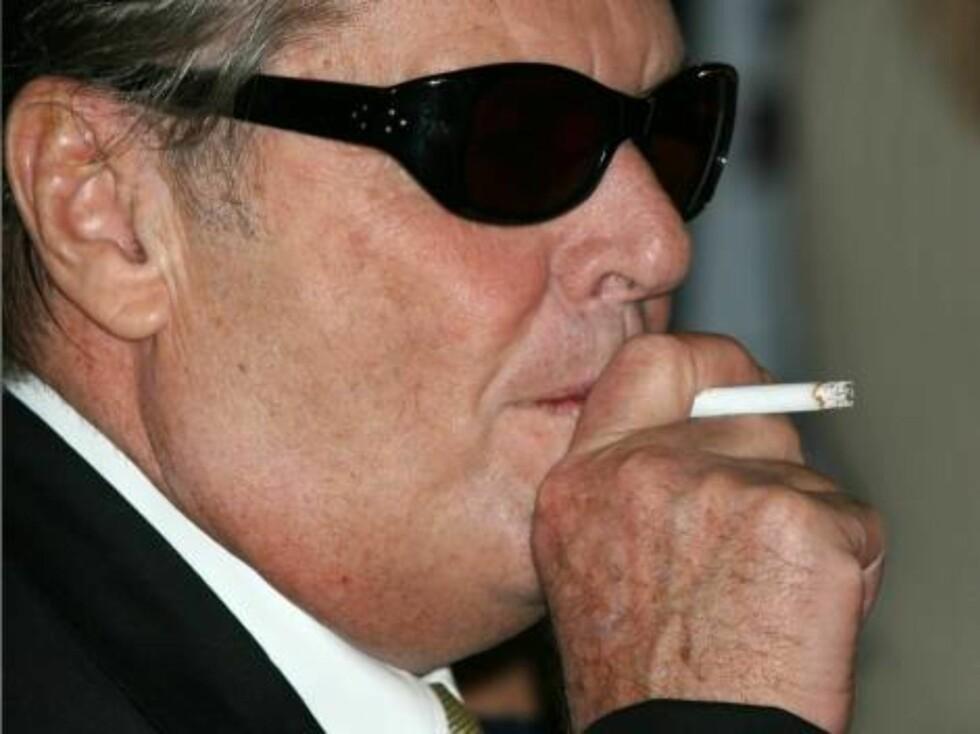 Jack har rollen som mafiaboss. Han lever virkelig opp til rollen! Foto: Stella Pictures
