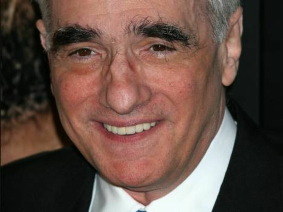 Martin Scorsese har øyenbryna i behold! Foto: Stella Pictures