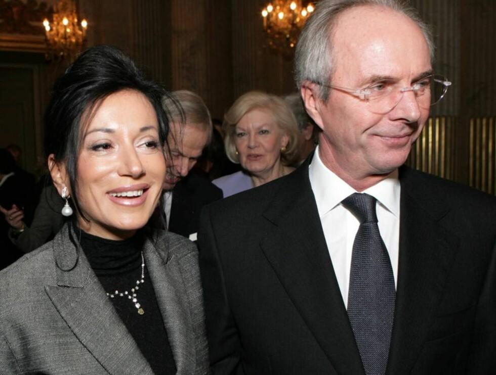 HETT PAR: Svennis og Nancy er stadig i nyhetsbildet. Både med og uten klær. Foto: All Over Press