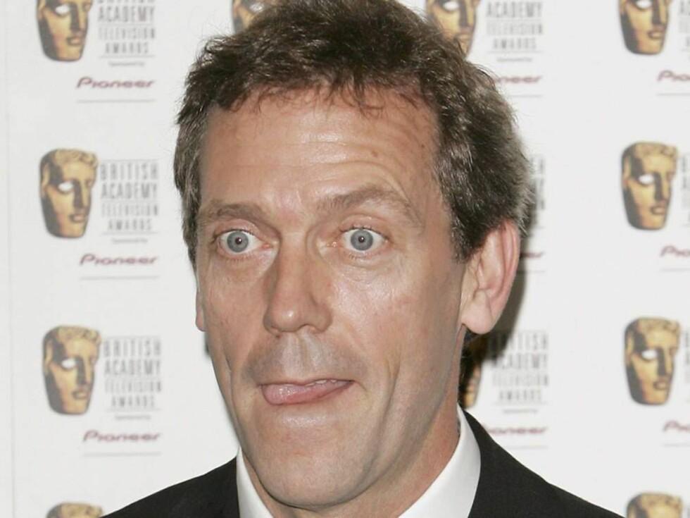 SEXSYMBOL: Hugh Laurie er en drøm for mange kvinner. Selv bare fnyser han av dette. Foto: All Over Press