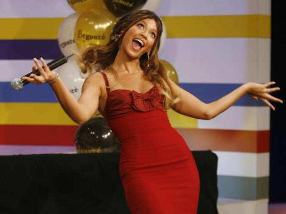 10. Popstjernen Beyoncé er årets babe. Foto: AP/Scanpix