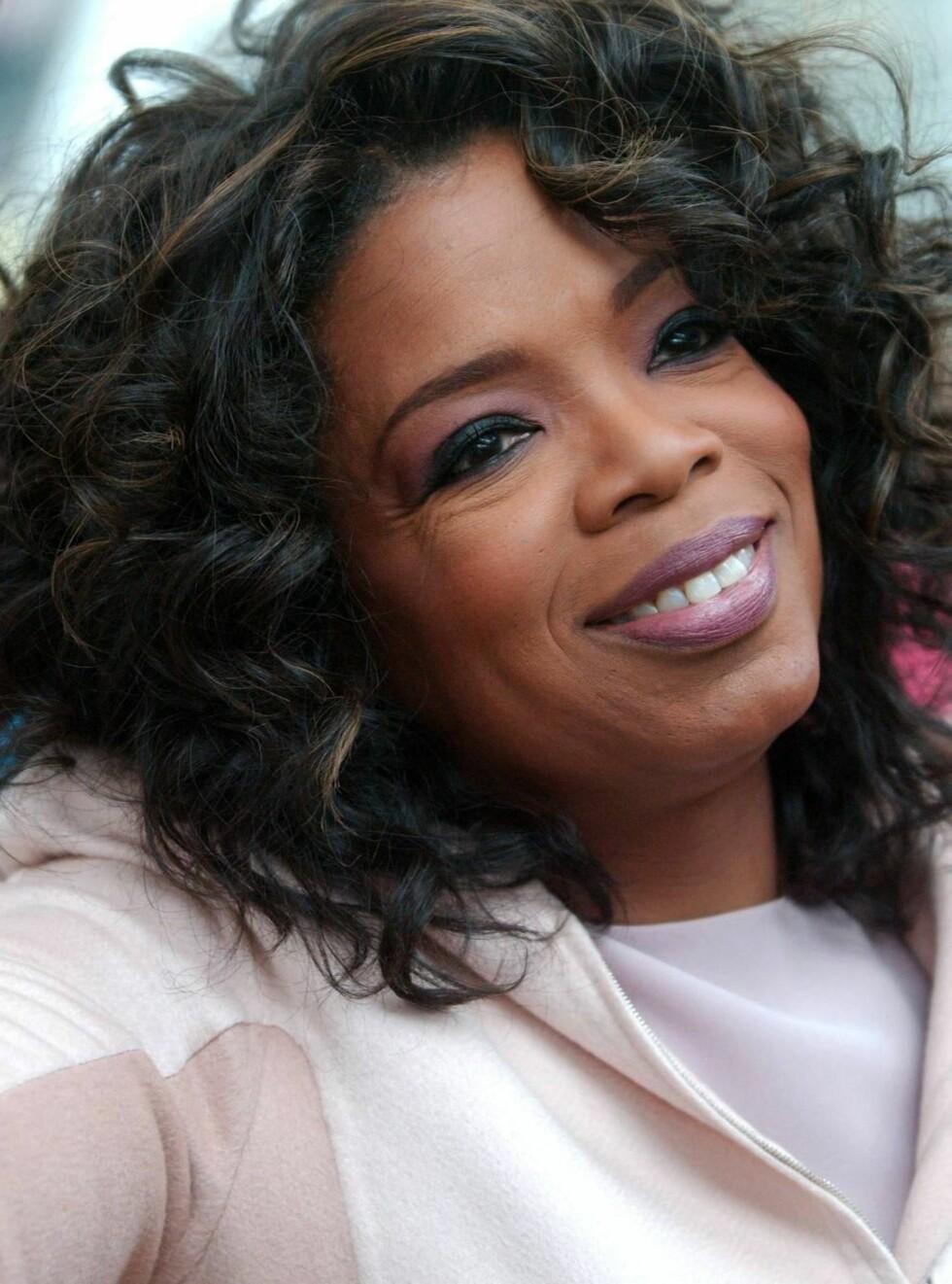 STILLER IKKE TIL VALG: Men Oprah er smigret over at hun er ønsket som president. Foto: All Over Press