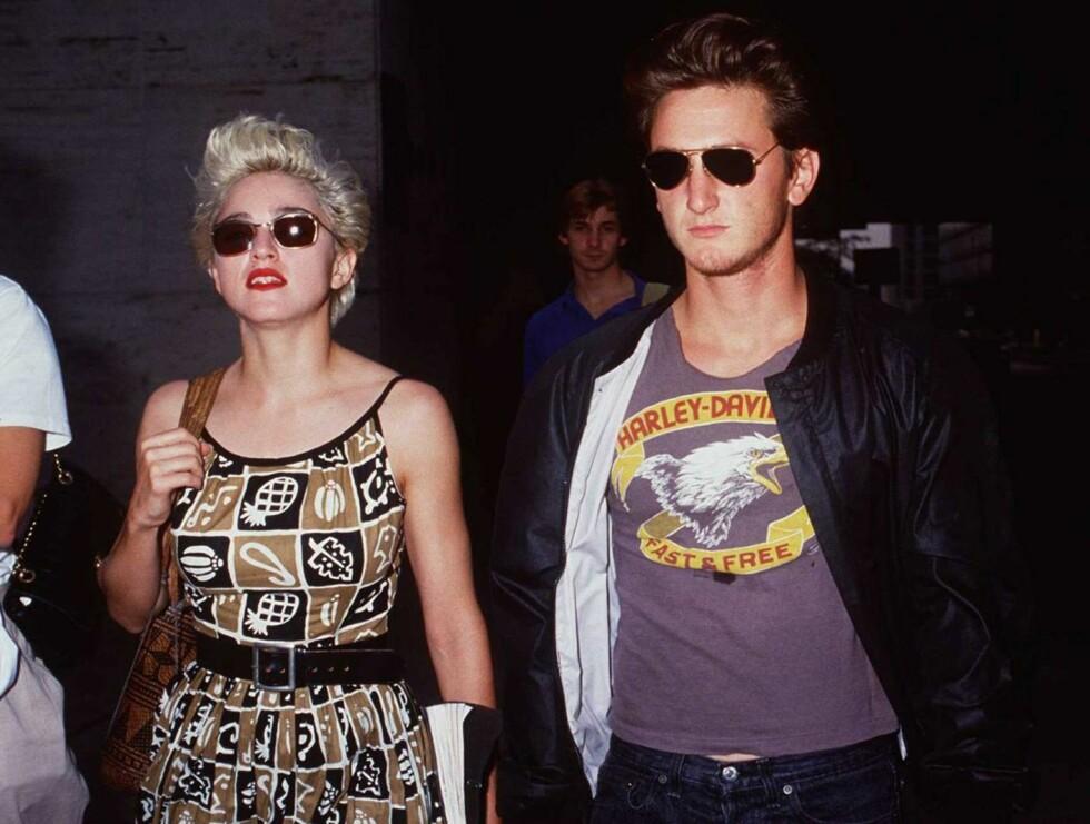 "80-TALLSPAR: Sean Penn var ""in bed with Madonna"". Foto: All Over Press"