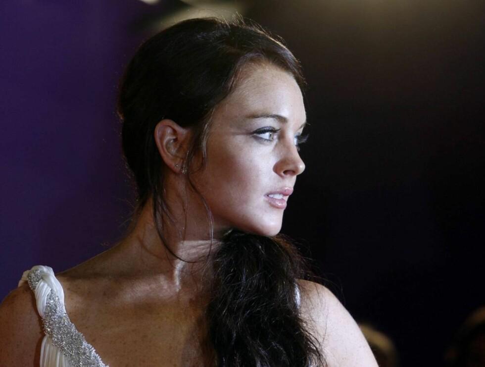 MISTET: Det var etter å ha deltatt på en filmfestival i Venezia, at Lindsay gråt over å ha mistet den verdifulle veska. Foto: AP/Scanpix