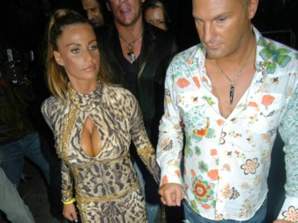 London 2006-09-20  Katie Price aka Jordan has a night out at Boujis club in South Kensington. However there was one partygoer who got rather over-excited when he heard the model was in the club, and proceeded to jump on her car...  Photo: Charlie Pycraft/ Foto: STELLA PICTURES