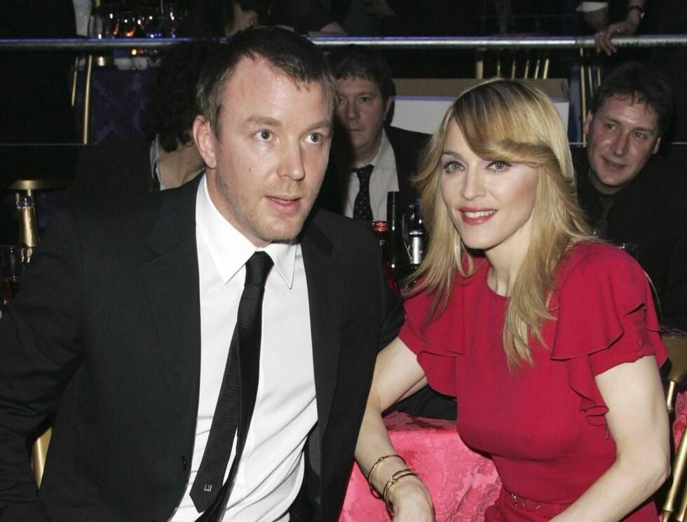 NYTT BARN: Madonna og Guy Ritche ser ut til å forberede seg på et nytt barn, enten gjennom via fødsel eller adopsjon. Foto: All Over Press
