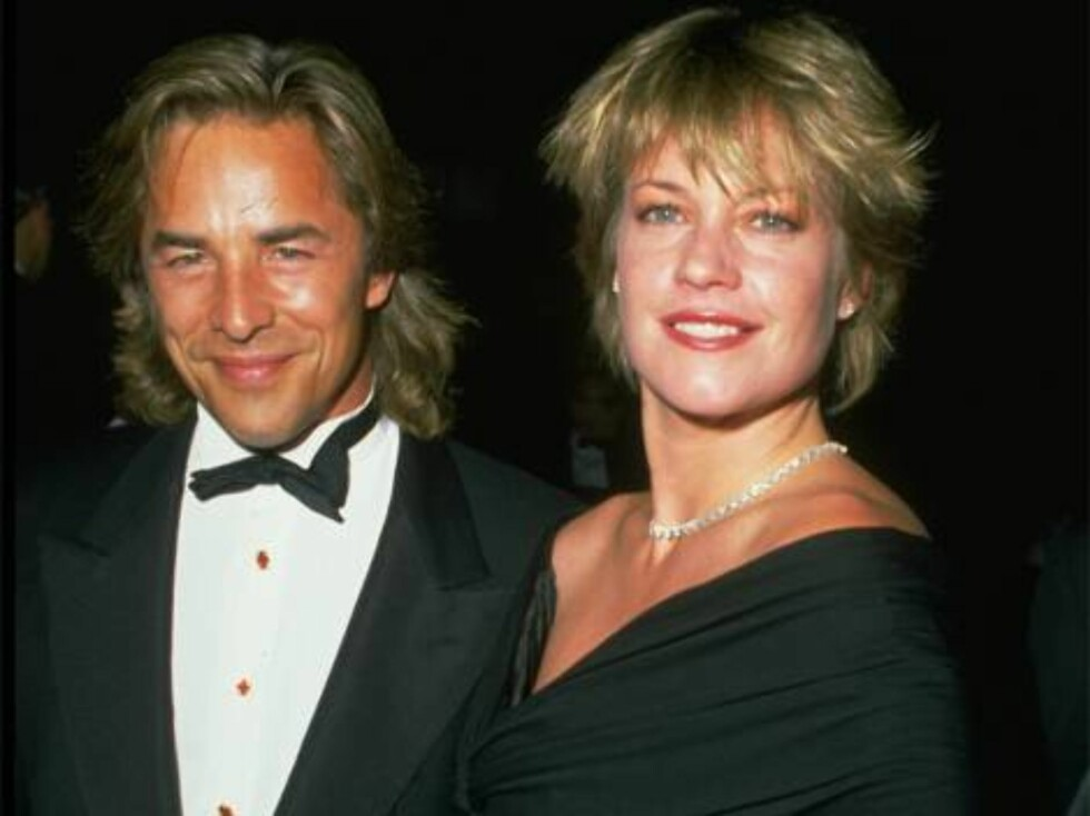No 812655 UNDATED FILE PHOTO: Don Johnson and Melanie Griffith. (Photo by Diane Freed) / ALL OVER PRESSdonjohnsonme_20010628_16669.jpg Foto: All Over Press