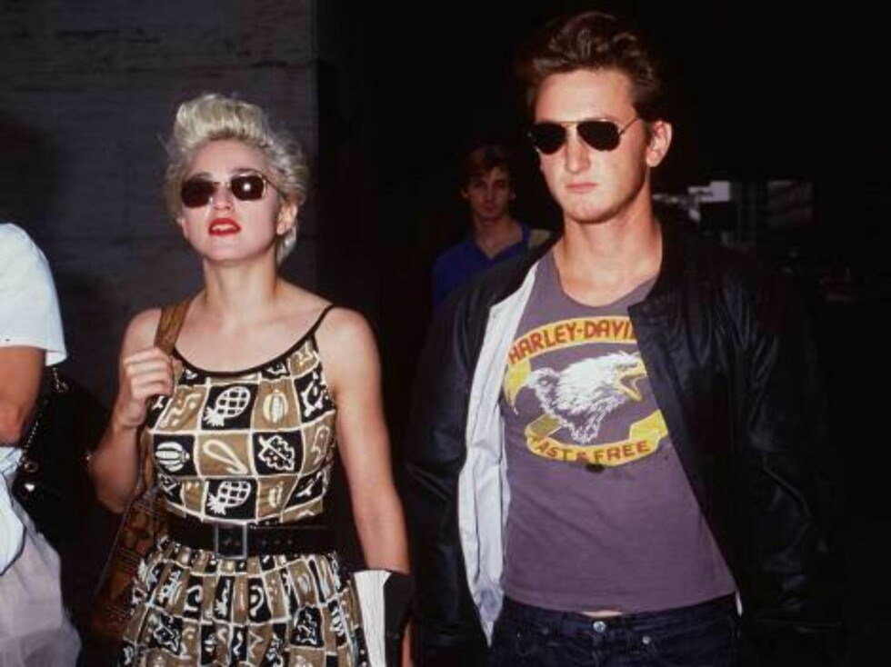 1986 Madonna and Sean Penn.  Getty Images/ALL OVER PRESS Foto: All Over Press