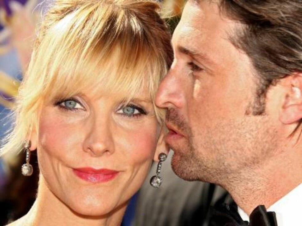 LOS ANGELES - AUGUST 27:  Actor Patrick Dempsey (R) and wife Jill Fink arrives at the 58th Annual Primetime Emmy Awards at the Shrine Auditorium on August 27, 2006 in Los Angeles, California.  (Photo by Kevin Winter/Getty Images)71697832GM054_58th_Annual_ Foto: All Over Press
